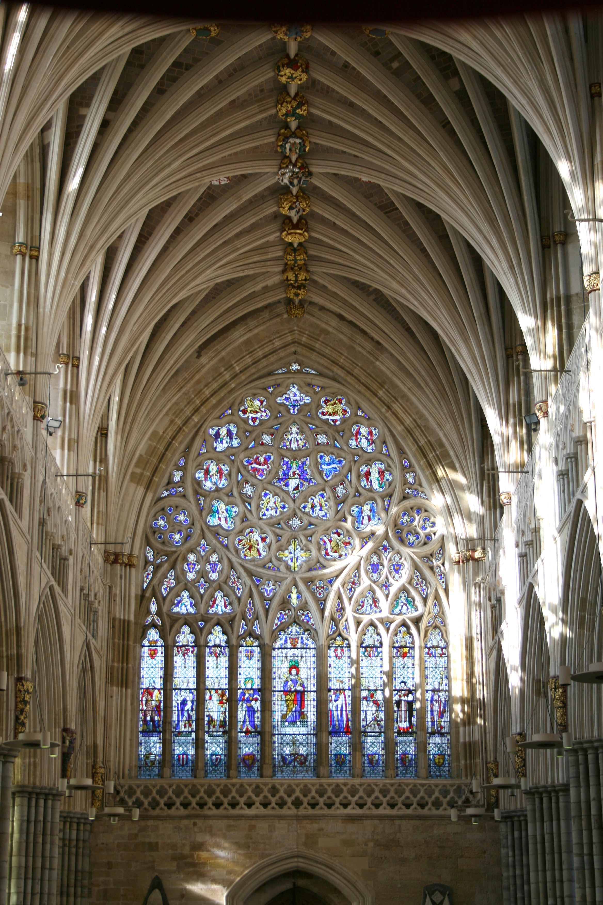 Arched Exeter Cathedral Simonhlilly